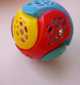 Мяч, прыгает и светится с музыкой