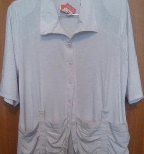 Блузка (новая,белая)
