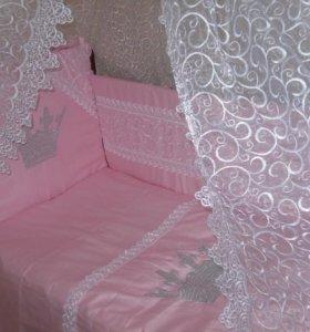 Набор в кроватку принцессы