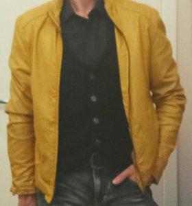 Куртка мужская экокожа.
