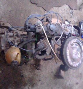 Двигатель на Опель кадет 1.3s