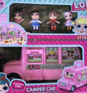Наборы с куклами лол