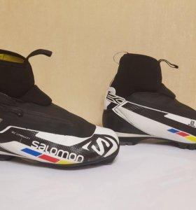 Лыжные ботинки классика