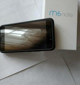 Смартфон Meizu m6 note 3/16 black