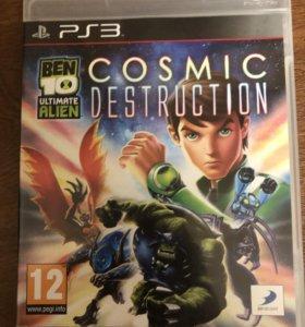 Игра COSMIC DESTRUCTION для пс3
