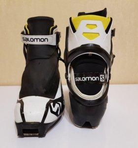 Лыжные ботинки коньковые