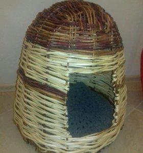 Домик плетеный