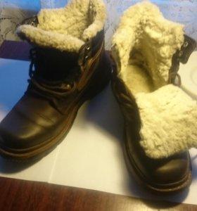 Ботинки зимние мужские р-р.43