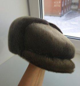 Мужская шапка из меха нерпы