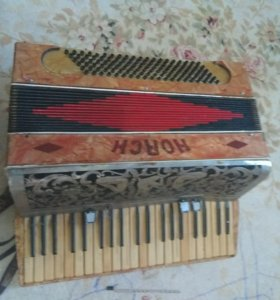 Старый Horch аккордеон под рест-/на запча