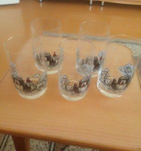 Бокалы стаканы