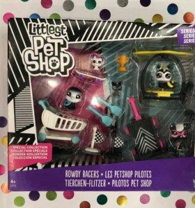 """Новый набор Littlest pet shop """"Буйные гонщики»"""