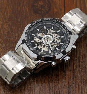 Новые мужские часы Winner Skeleton (механические)