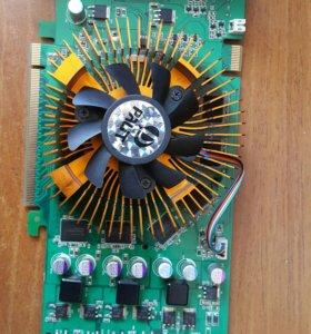 Видеокарта 9600GSO PCI-E 768MB DDR3
