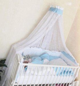 Комплект в детскую кроватку 10 предметов