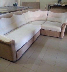 Перетяжка мягкой мебели и ремонт
