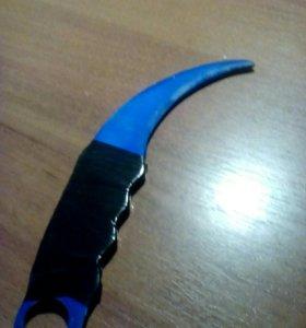 Нож деревянный(самодельный)