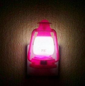 Ночник новый светодиодный