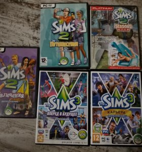 The Sims 2/3 дополнения