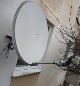 Спутниковый Ресивер + антена
