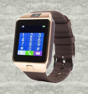 Продам *Новые* умные-часы dz-09.