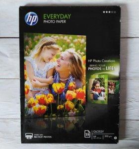 Фотобумага HP A4 глянцевая 25 листов 210*297мм