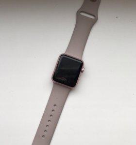 Apple Watch 38 mm 7000 series ( лавандовый )