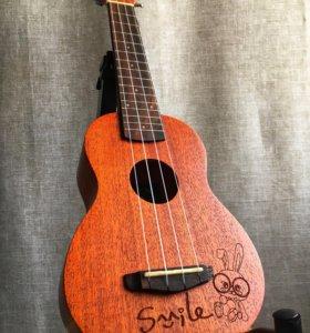 Укулеле Гавайская гитара новая комплект