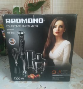 Новый блендер Redmond RHB-2942(черный)