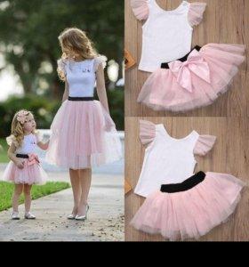 Family look, одежда для мамы и дочери