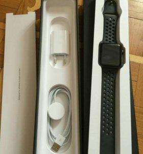 Часы Apple Watch Nike + 3 Series 42 мм.