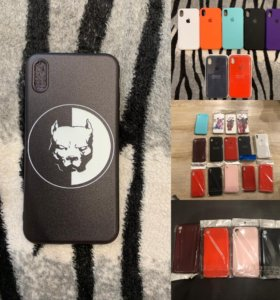 Чехлы и защитные Стекла iPhone X XR XS XSMax