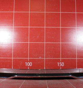 Mercedes W166 ML Спойлер бампера заднего юбка в сборе (12-)