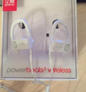 Наушниеи powerbeats 3