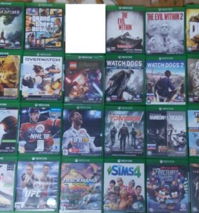 Игры на дисках для XBOX ONE , S, X, Лицензия