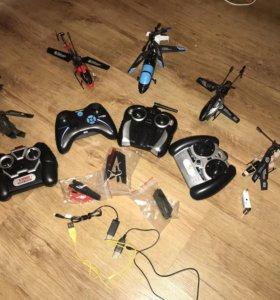 Вертолёты радиоуправляемые