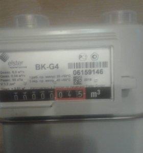 Газовый счетчик ВКG4