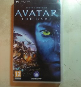 Avatar The game for PSP
