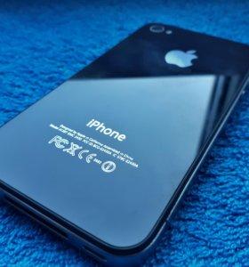 Iphone 4S чёрный (black) в отличном состоянии