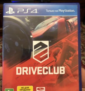 DriveClub игра PlayStation 4, PS 4