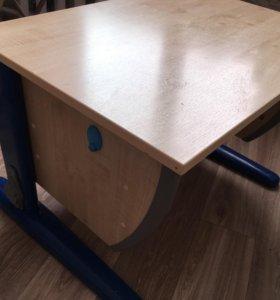 Растущий стол и стул . Стол трансформер. Парта