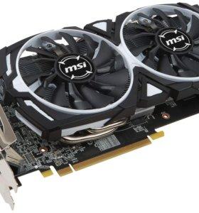 Продам видеокарту MSI AMD Radeon RX 580 ARMOR 8g.