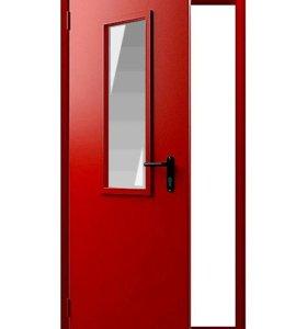 Металлическая противопожарная дверь EI-60