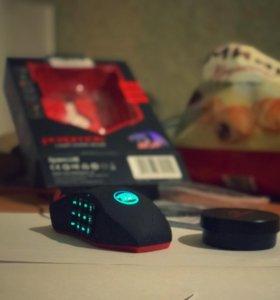 Игровая мышка redragon firestorm
