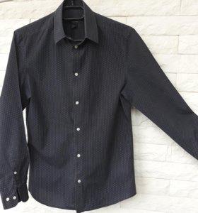 Рубашка муж.в бел.горошек (S/170/92А)