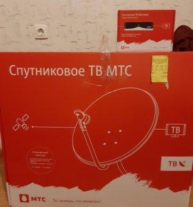 Спутниковое ТВ МТС новая