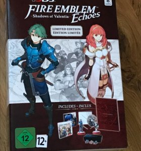 Fire Emblem Echoes Limited Edition (новая)