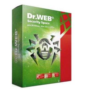 Ключ Dr.Web Security Space на 3 года + mobile