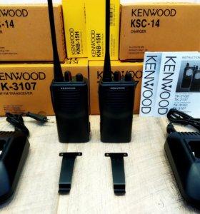 Комплект радиостанций Kenwood TK-3107