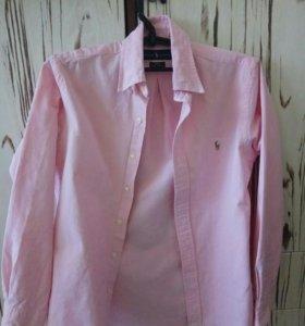 Рубашка Ralph Lauren розовая